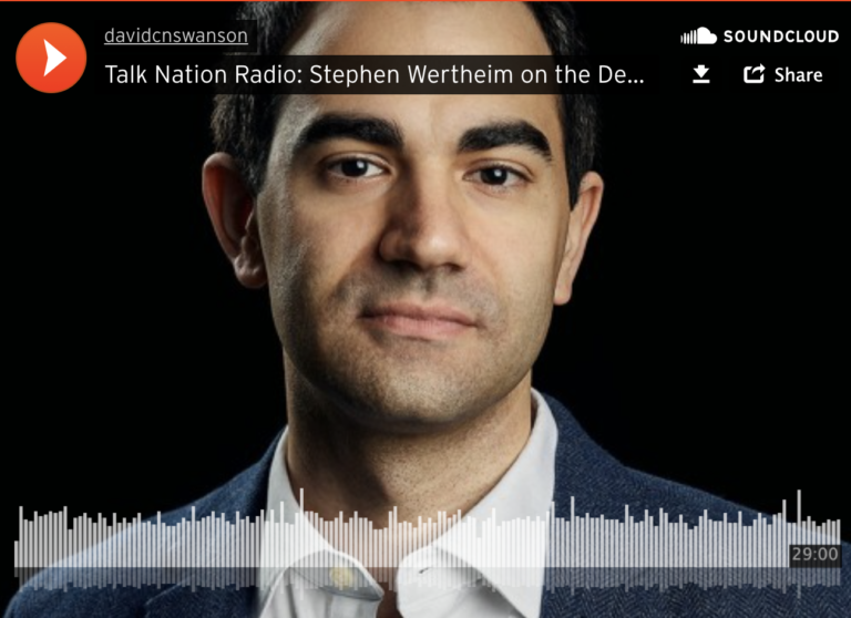 Stephen Werthein on Talk Nation Radio