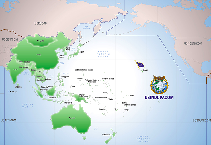 us military presence in Pacific region