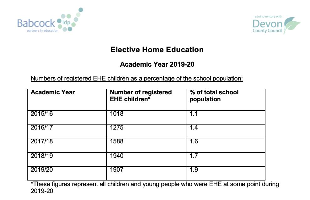 spreadsheet of children registered for school