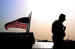 Soldat USA Flagge