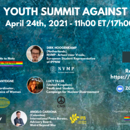 Youth Summit Against NATO Planned for April 24