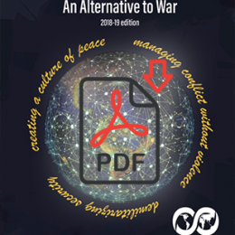 A Global Security System: An Alternative to War – 2018-19 Edition (pdf)